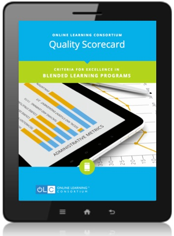 OLC Quality Scorecard Improve the Quality of line Learning